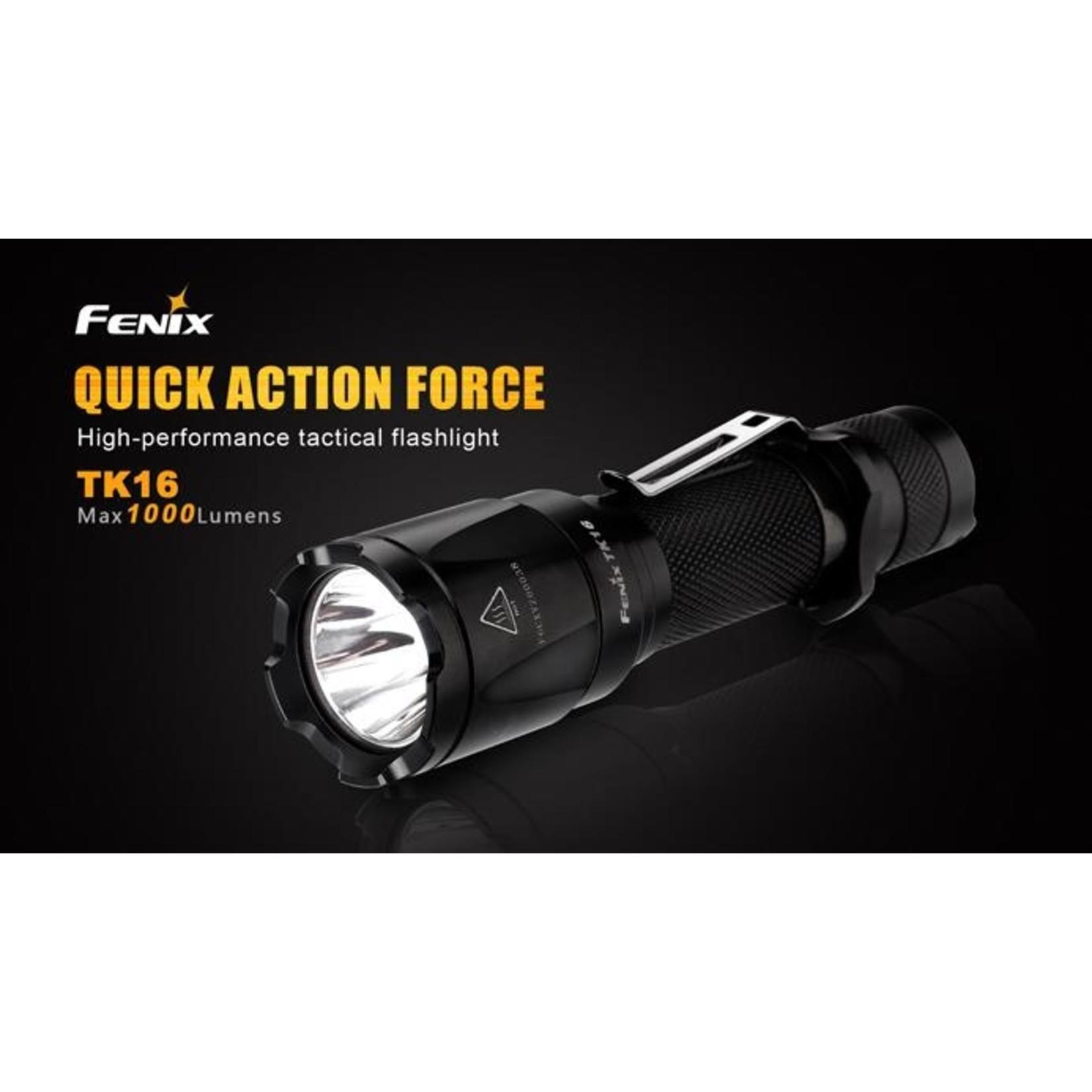 FENIX LIGHT TK16  FLASHLIGHT