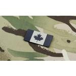 SDTAC MINI PATCH DRAPEAU CANADIEN INFRAROUGE - TAN & NOIR