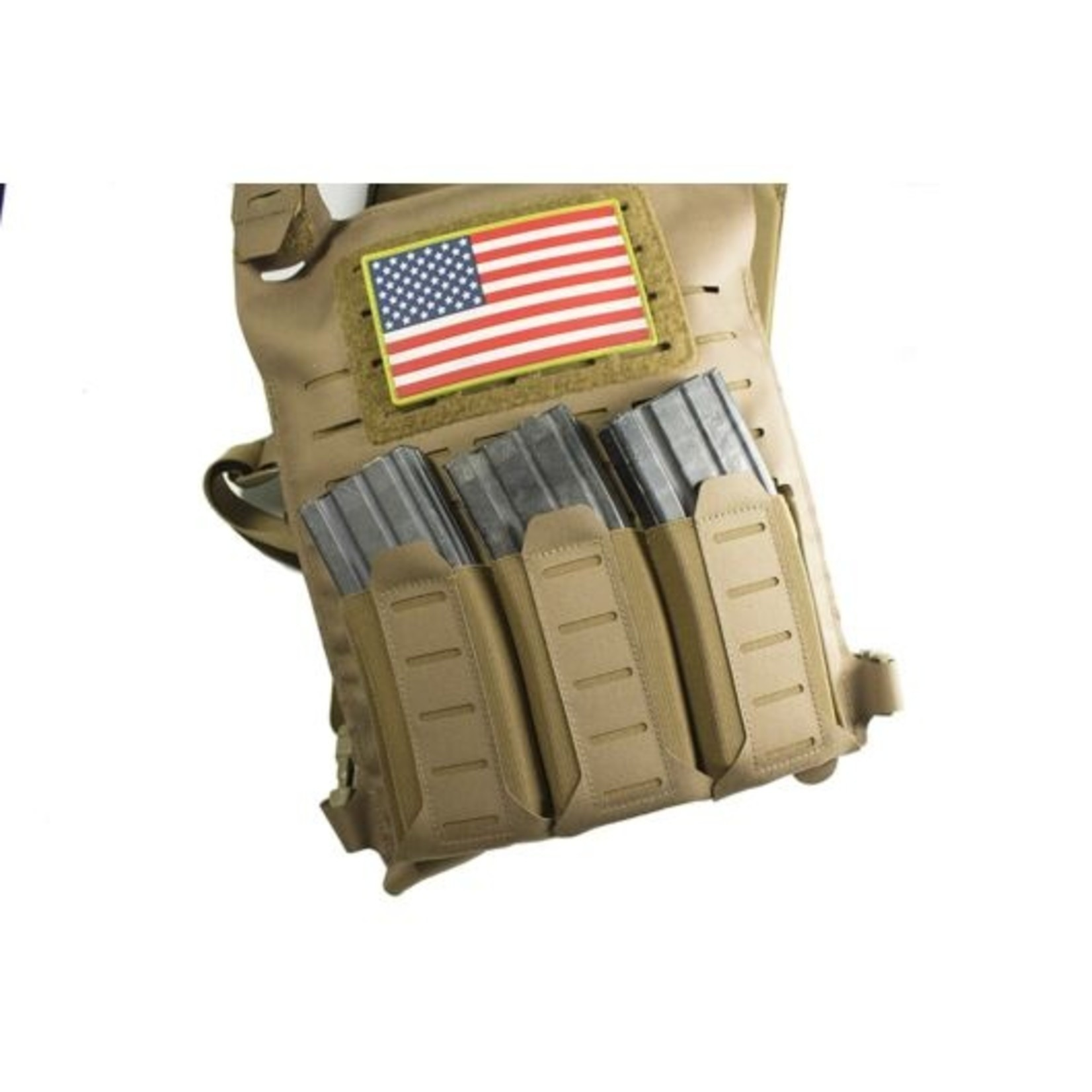 BLUE FORCE GEAR STACKABLE TEN-SPEED  DOUBLE M4 MAG POUCH