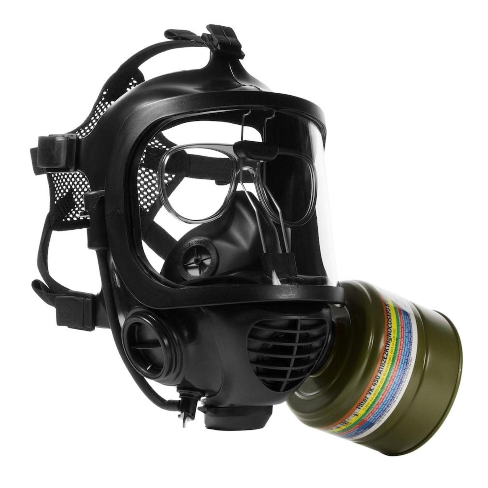 MIRA SAFETY VK-450 CARTOUCHE FILTRE POUR FUMÉ/MONOXIME DE CARBONE