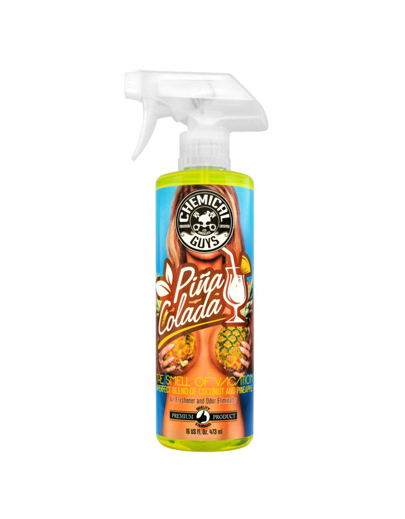 Chemical Guys AIR22916 Pina Colada Air Freshener and Odor Eliminator, 16 fl. oz