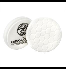"Hex-Logic BUFX_104HEX4 4"" Hex-Logic Pad - White Medium Light Polishing Pad (4""Inch)"