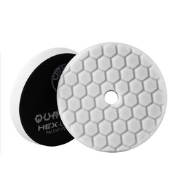 "Hex-Logic BUFX114HEX5 Hex-Logic Quantum Buffing Pad -White -5.5"""