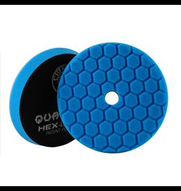 "Hex-Logic BUFX115HEX6 Hex-Logic Quantum Buffing Pad -Blue -6.5"""
