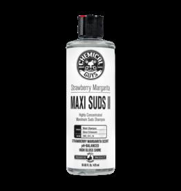 Chemical Guys CWS_1011_16 Maxi-Suds II: Super Suds Shampoo- Strawberry Clear - Superior Surface Shampoo (16 oz)