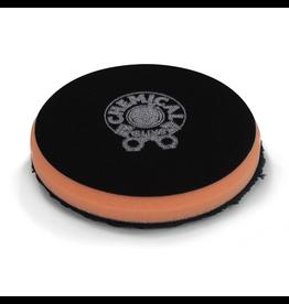 "Chemical Guys BUFX_300_4 4"" Cutting Micro Fiber Pad, Orange Inner Foam, 3/4"" Thickness (1pcs)"