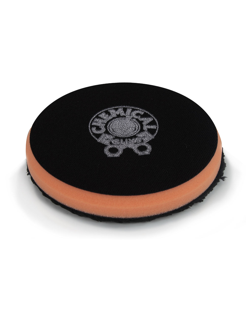 Hex-Logic BUFX_301_4 Black OPtics Microfiber Black Polishing Pad (4.5 In)