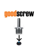Good Screw BUF_SCREW_DRILL Good Screw- Drill Adaptor Makes Rotary Backing Plates Fit On Any Drill