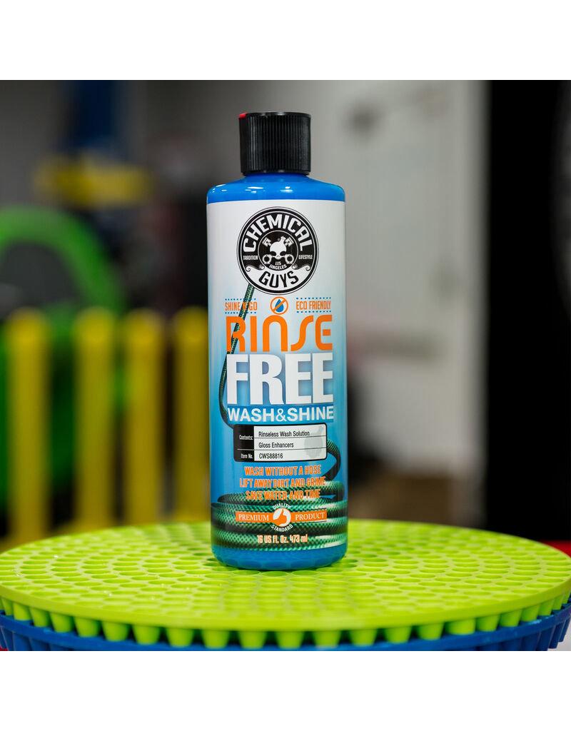 Chemical Guys CWS88816 Rinse Free EcoWash- The Hose Free Car Wash (16oz)