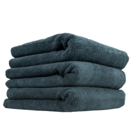 "Chemical Guys MIC_801_03 Edgeless No Bunch Microfiber Polishing Towels, 16"" X 16"" (3 Pack)"