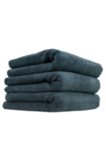 Chemical Guys MIC_805_3 704 Black Monster Edgeless Microfiber Towels- (3 Pack)