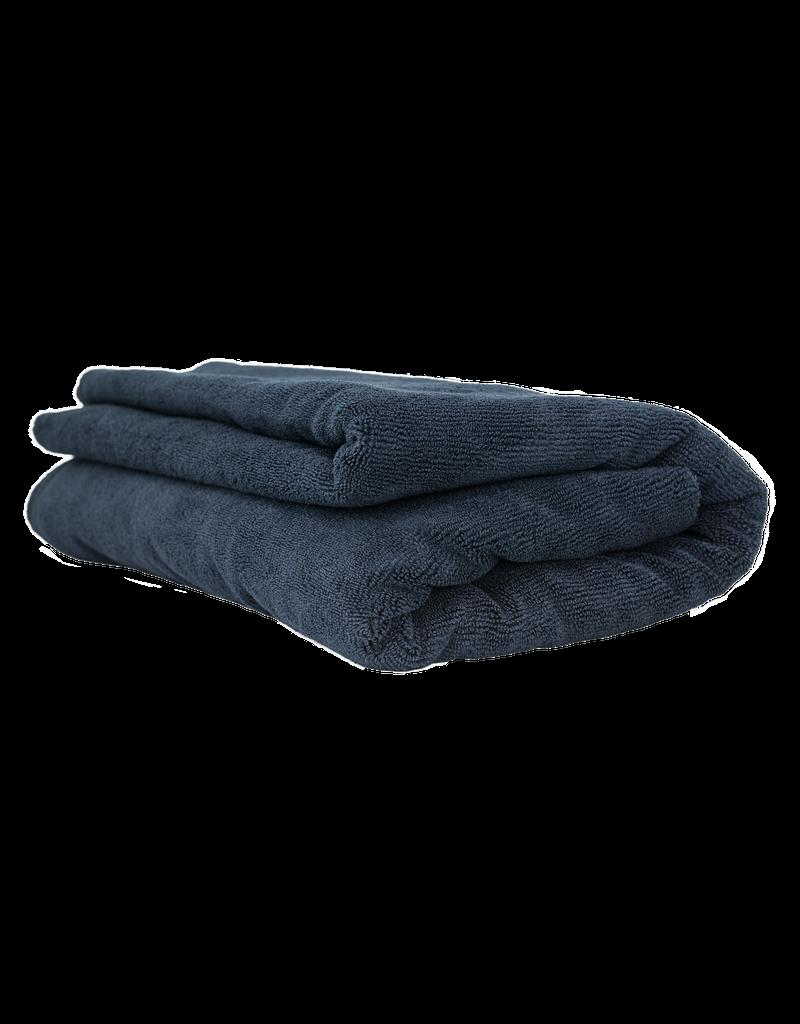 "Chemical Guys MIC_808 Elegant Edgeless Microfiber Towel, Black 51"" X 30"""
