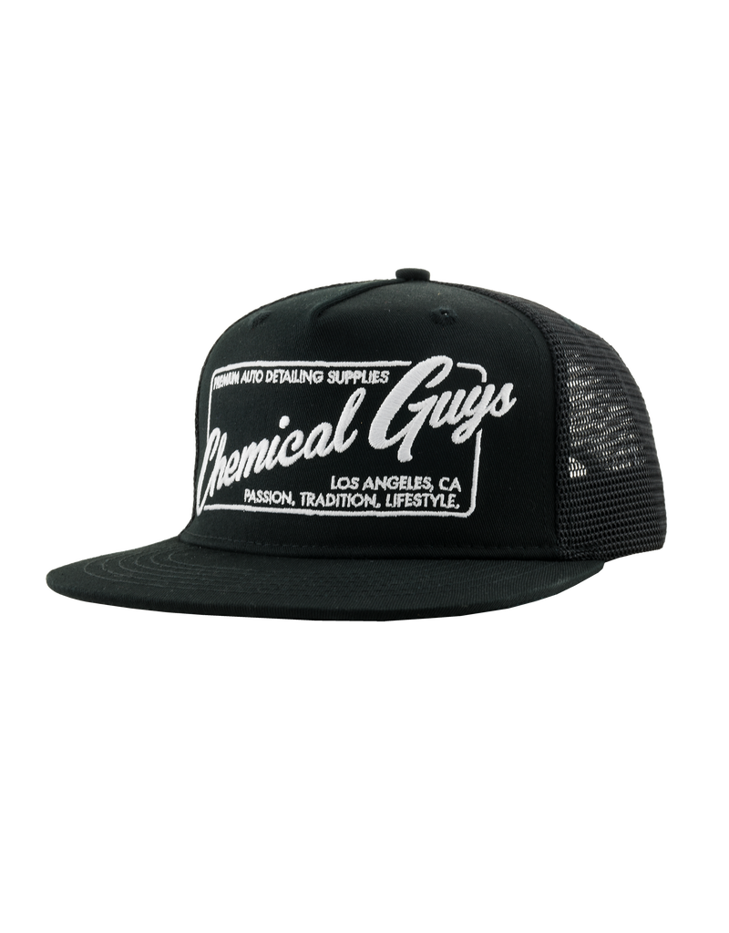 Chemical Guys SHE902 - Chemical Guys Car Culture Lifestyle Snapback Trucker Hat (One Size)