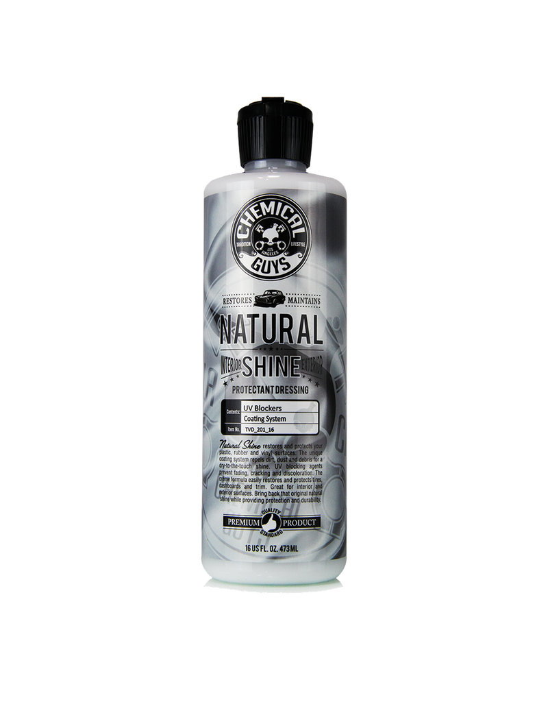 Chemical Guys TVD_201_16 Natural Shine, Satin Shine Dressing (16oz )