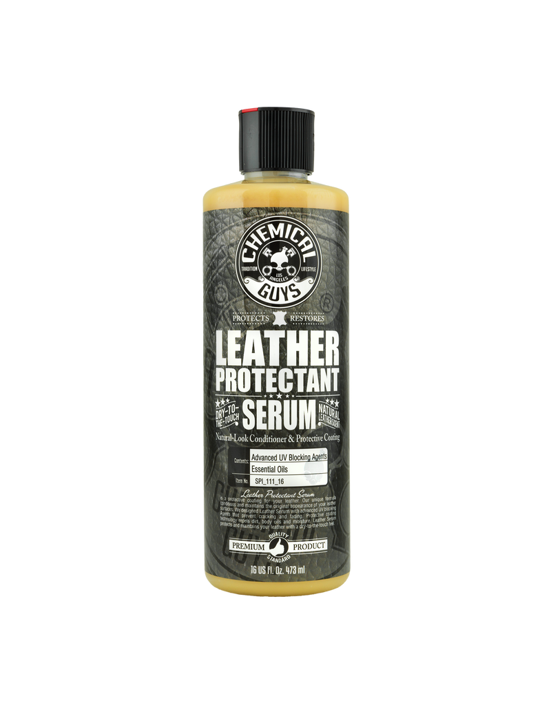 Chemical Guys SPI_111_16 Vintage Leather Serum-Natural-Look Conditioner & Protective Coating (16oz)