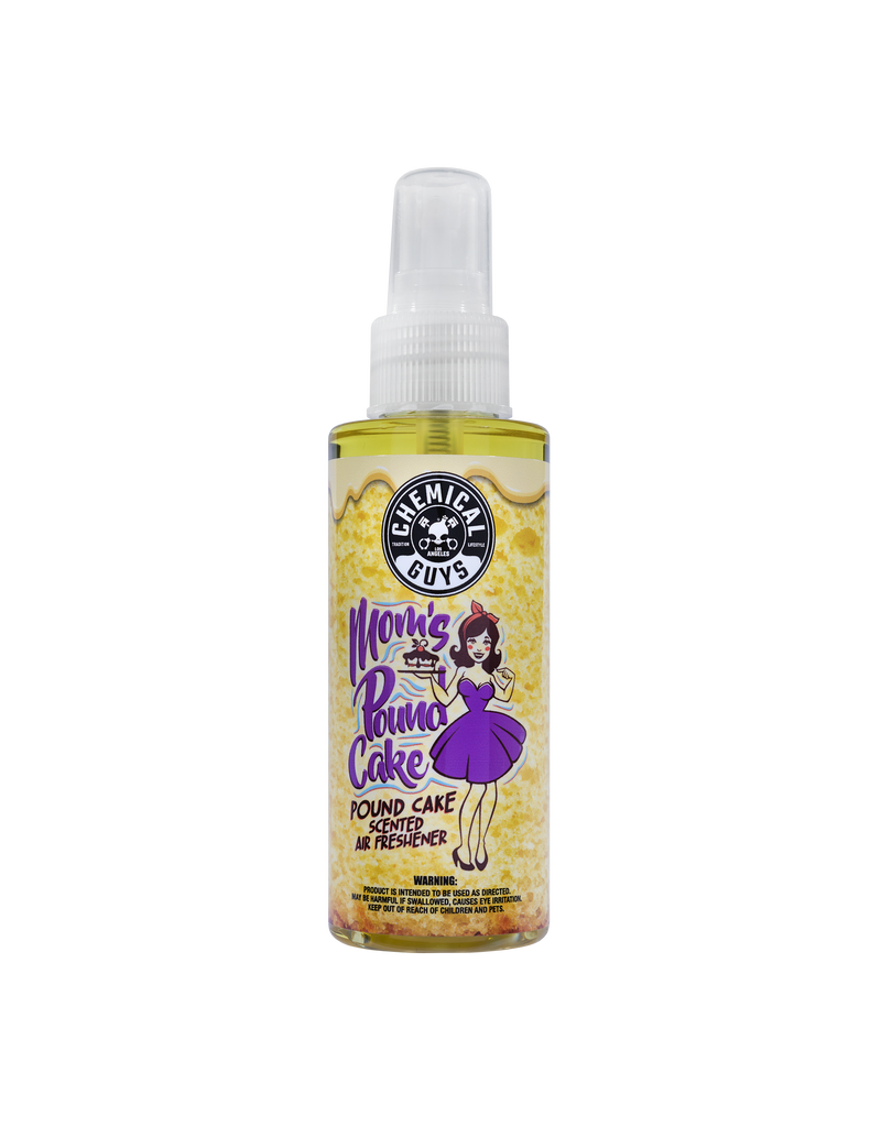 Chemical Guys AIR24604 Mom's Pound Cake Air Freshener & Odor Eliminator (4 oz)
