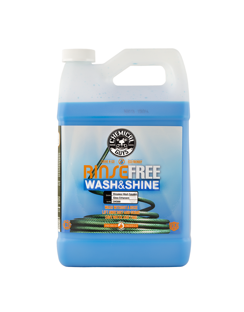 Chemical Guys CWS888 Rinse Free EcoWash- The Hose Free Car Wash (128 oz - 1 Gal)