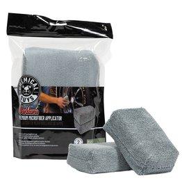 Chemical Guys Workhorse Premium Microfiber Applicator, Gray