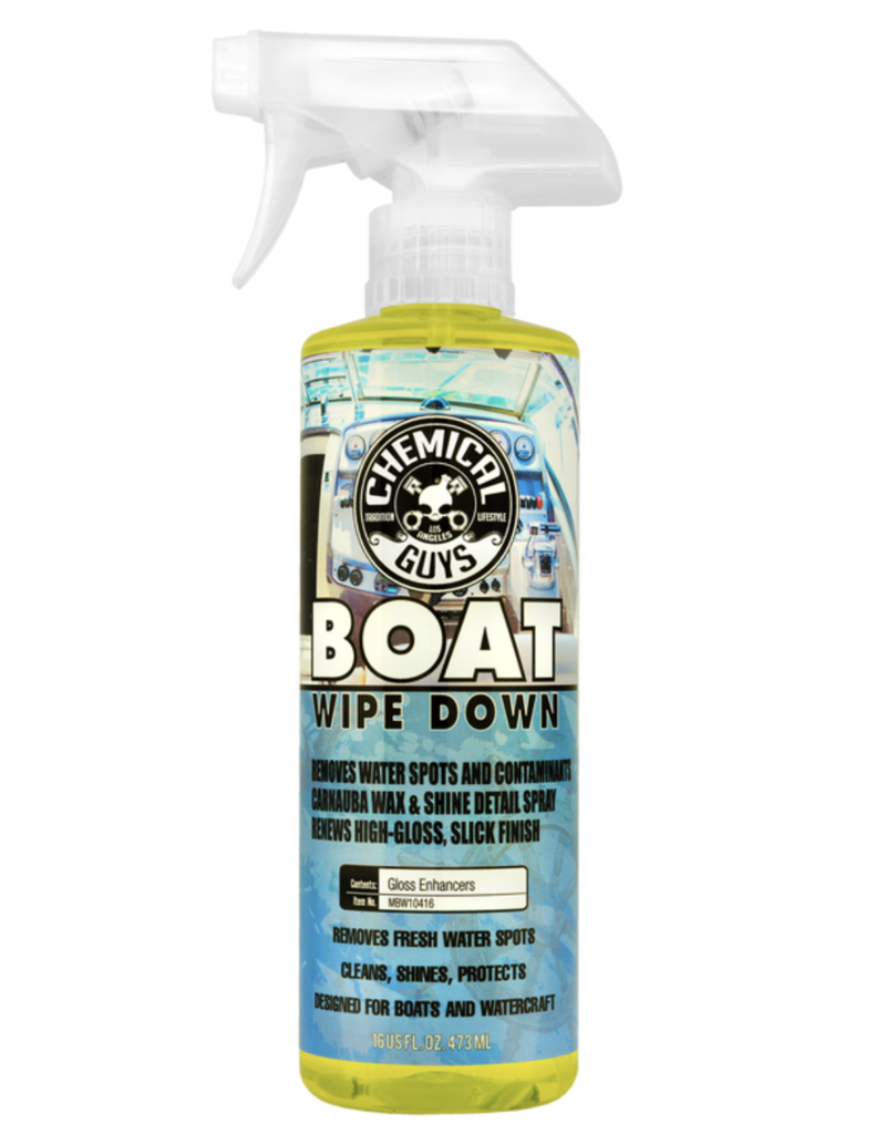 Chemical Guys MBW10416 Boat Water Spot Remover Detail Spray (16oz)