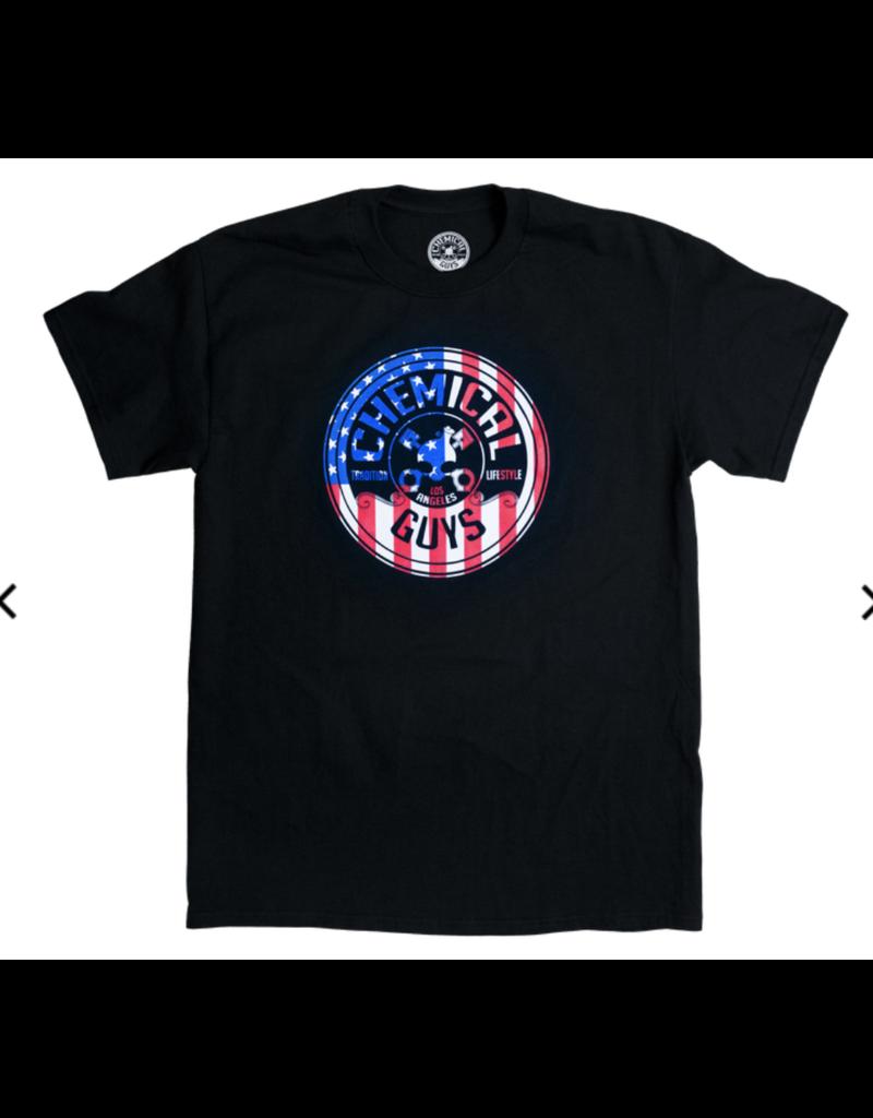 Chemical Guys  American Stars & Stripes T-Shirt (Large)