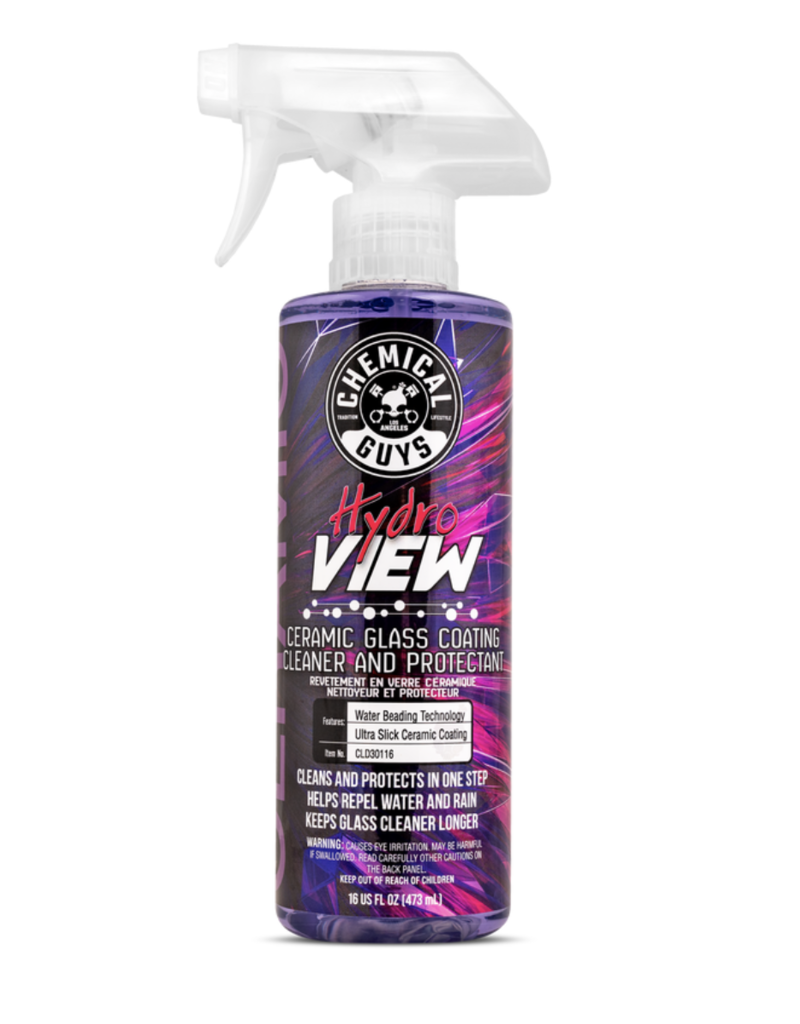 Chemical Guys CLD30116 - HydroView Ceramic Glass Cleaner & Coating (16 oz)