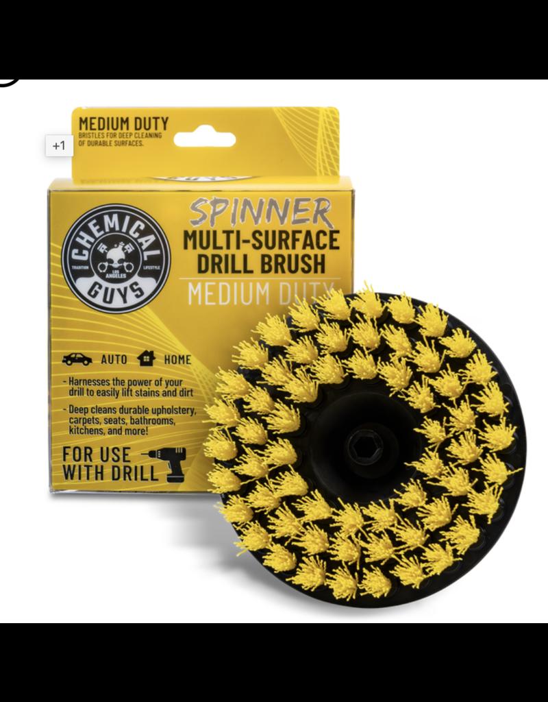 Chemical Guys ACC507 - Chemical Guys Spinner Carpet Drill Brush, Medium Duty