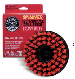 Chemical Guys ACC508 - Chemical Guys Spinner Carpet Drill Brush, Heavy Duty