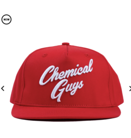 Chemical Guys SHE912 - Chemical Guys Red Script Hat