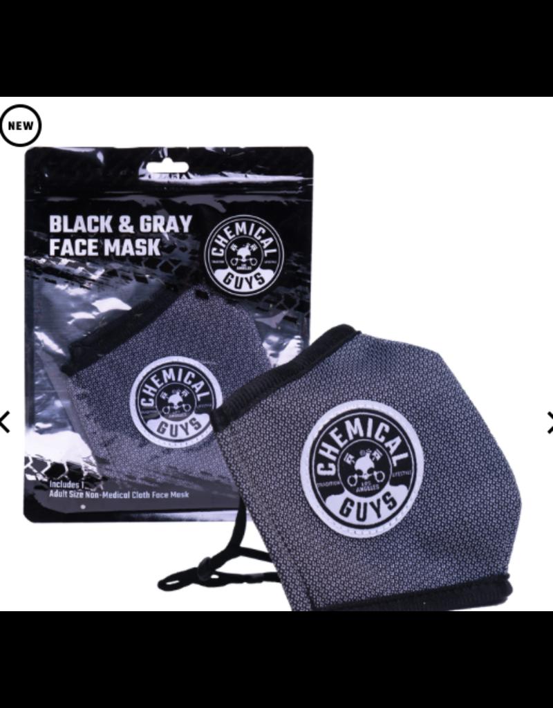 Chemical Guys SHEFM102 - Chemical Guys Black & Gray Non-Medical Face Mask