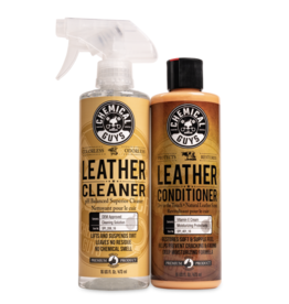 Chemical Guys LEATHER CLEANER & CONDITIONER  COMPLETE LEATHER CARE KIT