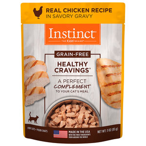 Instinct Feline Sobre Healthy Cravings De Pollo