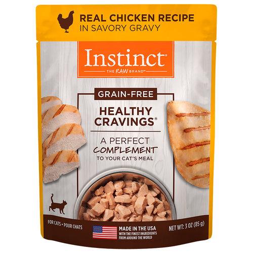 Instinct Feline Sobre Healthy Cravings De Pollo