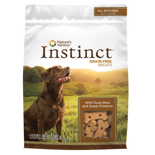 Instinct Canine Premios Galleta De Pato Y Papa Dulce - 10 oz
