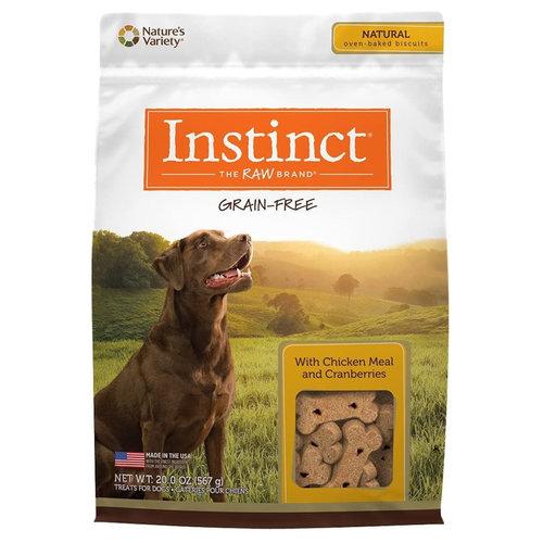 Instinct Canine Premios Galleta De Pollo Y Arándanos - 10 oz