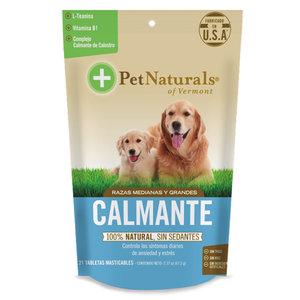 Pet Naturals Calmantes Para Perros Mediano Y Grandes (21 C/U)