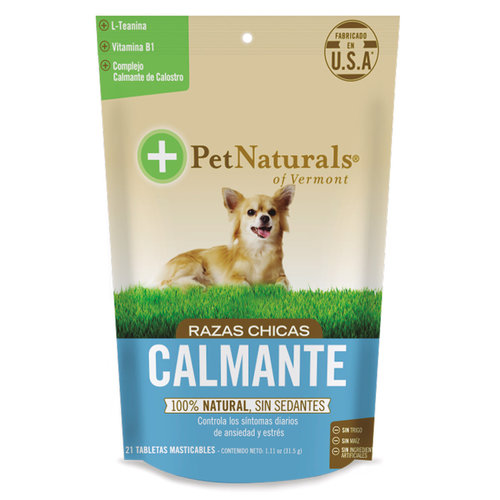 Pet Naturals Calmantes Para Perros Chicos (21 C/U)