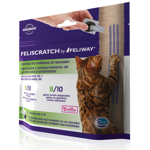 Ceva Feliscratch - 9 Pipetas De 5 ml