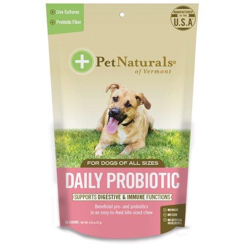 Pet Naturals Digestión Diaria Para Perros (60 C/U)