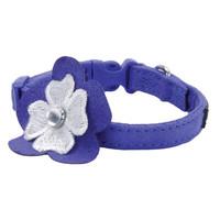 Collar Li'l Pals® Microfibra Ajustable w/ Flower