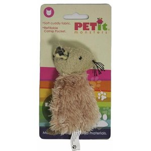 Petit Monsters Raton De Peluche Con Catnip