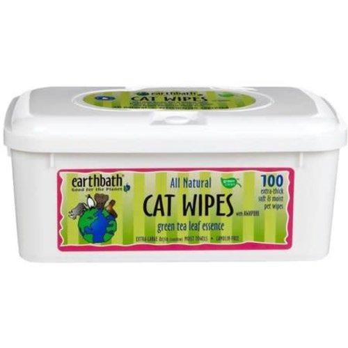 Earthbath Toallas De Limpieza De Te Verde: Gatos