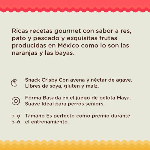 Un Dos Treats Canine Premios Gourmet Bites Galletas Horneadas Pato Y Cereza 156 g