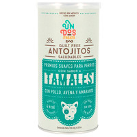 Canine Premios Guilt Free Antojitos Saludables Tamales 156 g