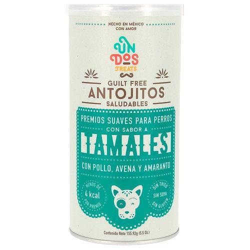 Un Dos Treats Canine Premios Guilt Free Antojitos Saludables Tamales 156 g