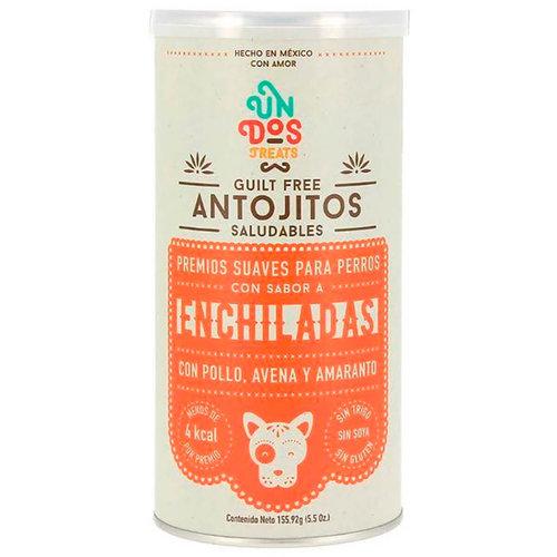 Un Dos Treats Canine Premios Guilt Free Antojitos Saludables Enchiladas 156 g