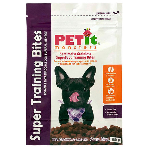 Petit Monsters Canine Premios Super Training Bites 180 G