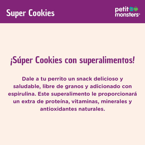 Petit Monsters Canine Premios Super Cookies 200 g