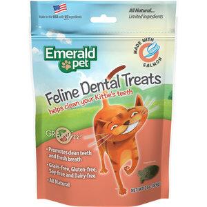 Emerald Pet Feline Premios Dentales - Salmon 85 g