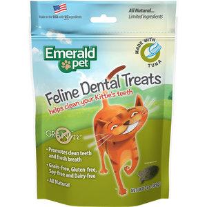 Emerald Pet Feline Premios Dentales - Atún
