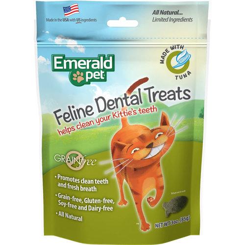 Emerald Pet Feline Premios Dentales - Atún 85 g